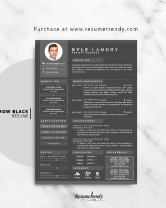 Resume-Template-Aarow-Black-2018