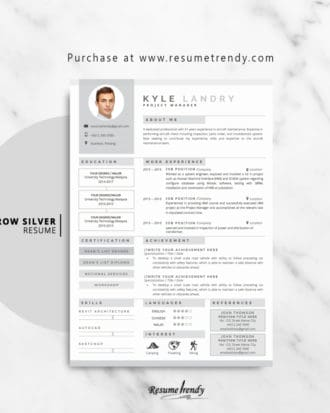 Resume-Template-Aarow-Silver-2018