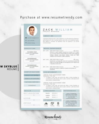 Resume-Template-Aarow-Skyblue-2018