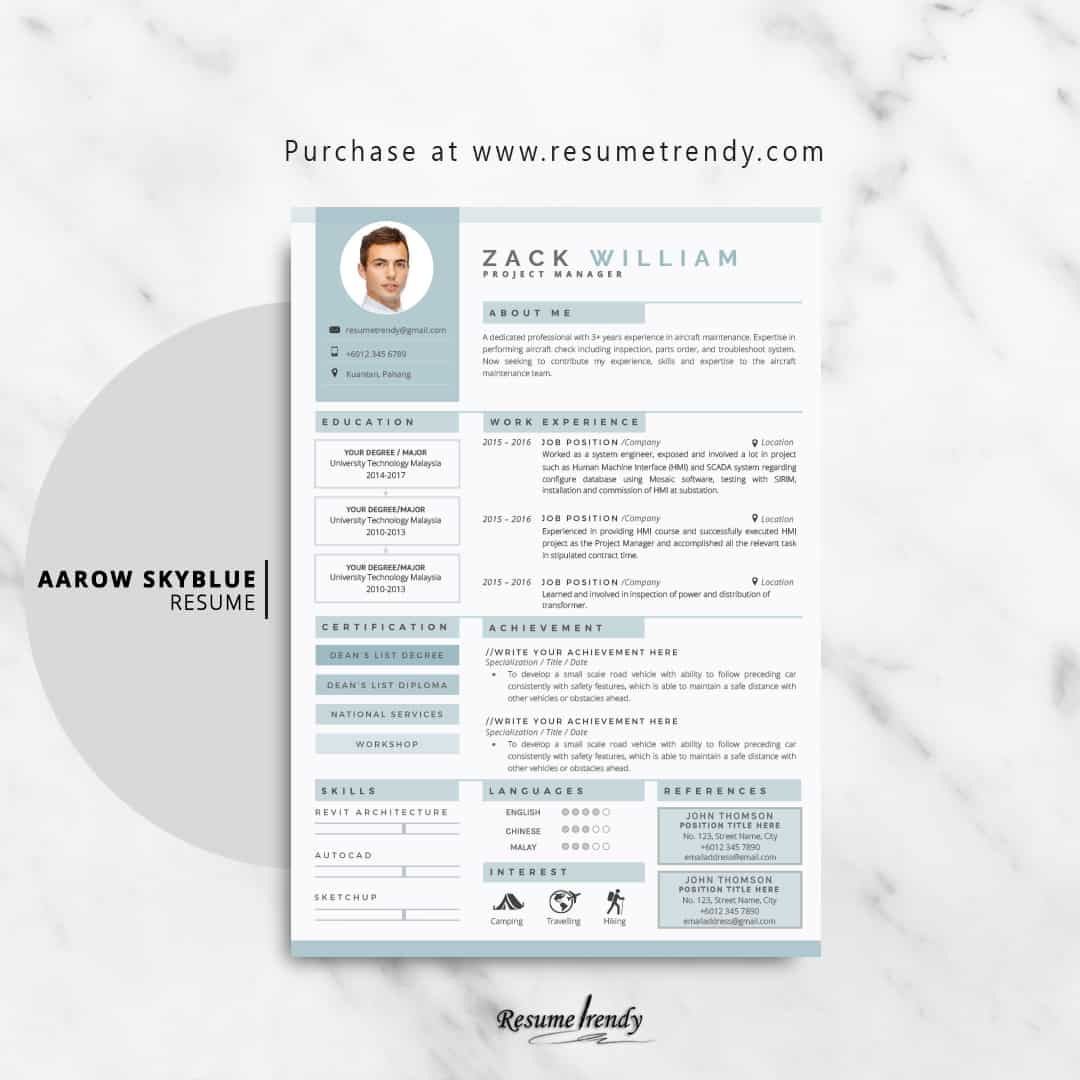 resume template 2019  updated