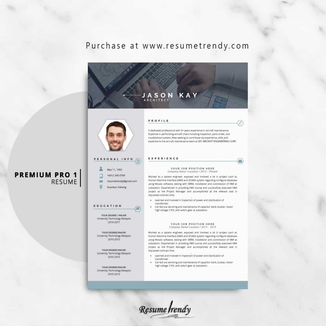 Template For Resume 2018 from resumetrendy.com