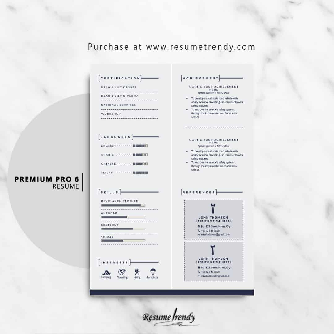 attorney resume template  updated
