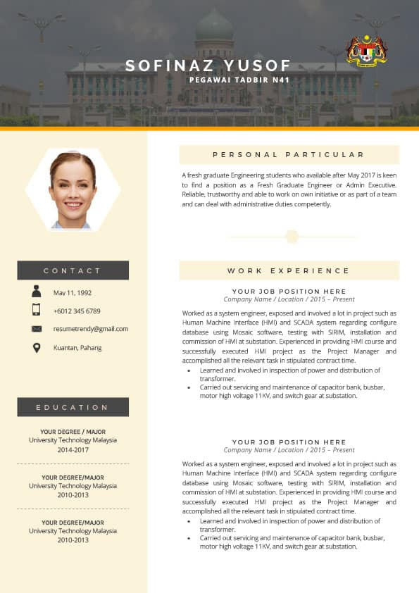 30 Resume Templates For Every Industry That Would Land You A Job